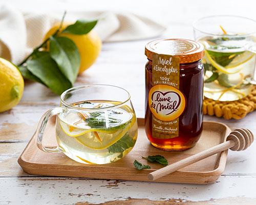 Infusion au miel d'eucalyptus Lune de Miel®