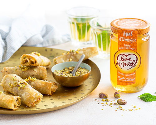 Pâtisseries orientales au miel d'oranger Lune de Miel®
