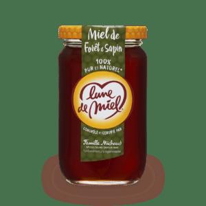 miel de foret et sapin pot en verre
