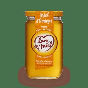 miel d'oranger pot en verre