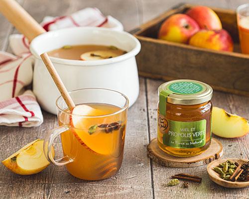 Apple cider au miel et propolis Lune de Miel®