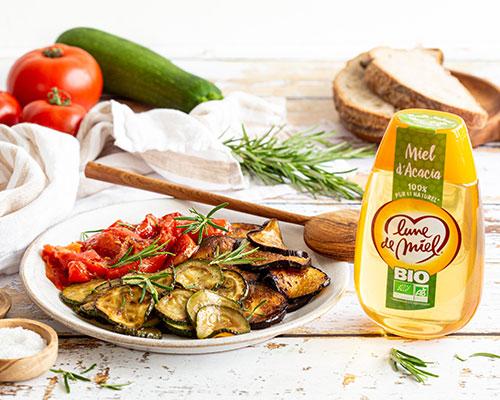 Légumes marinés au miel d'acacia Lune de Miel®