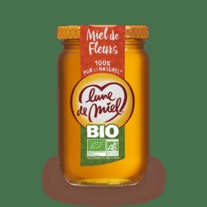 miel de fleurs biologique pot en verre