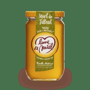 miel de tilleul pot en verre