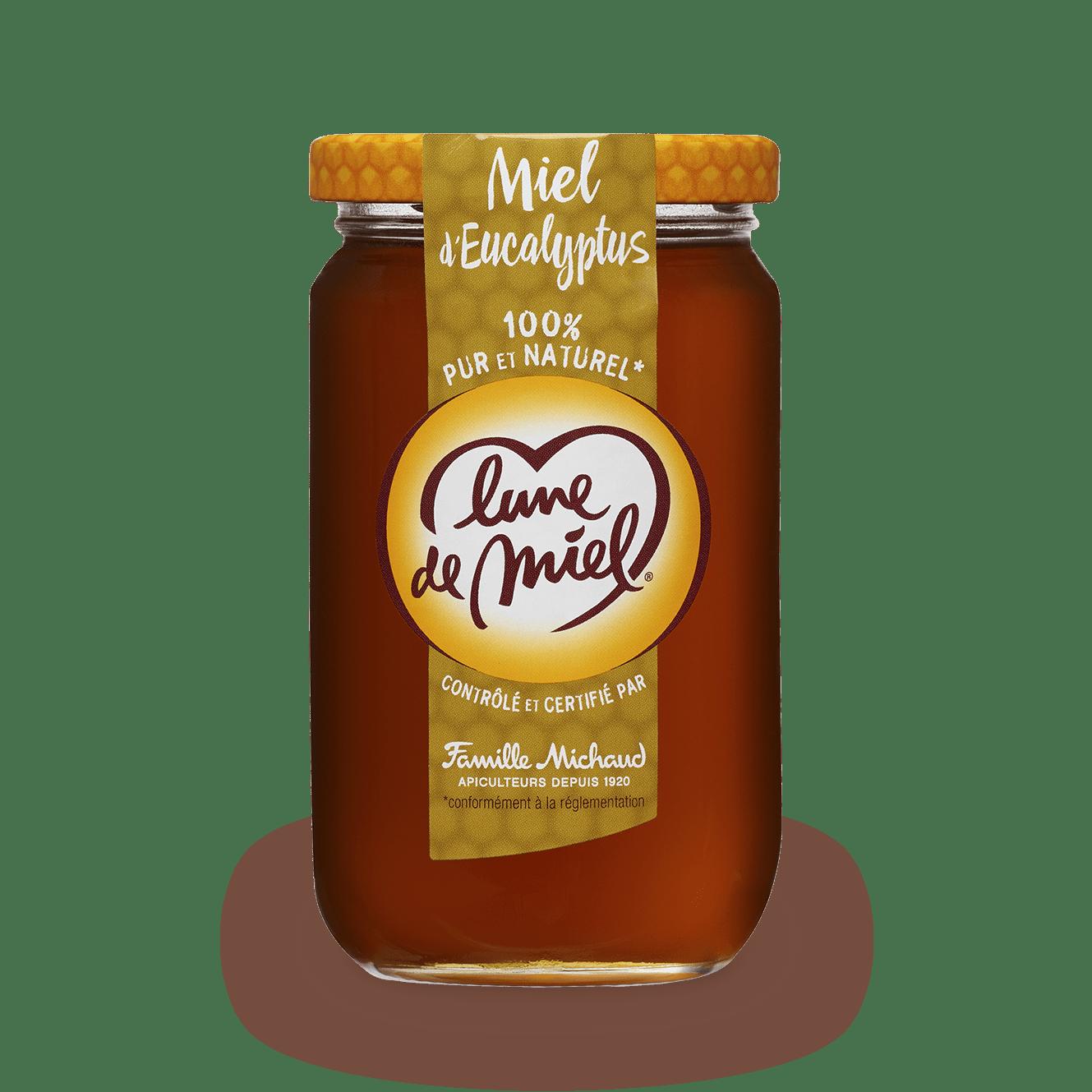 miel d'eucalyptus pot en verre