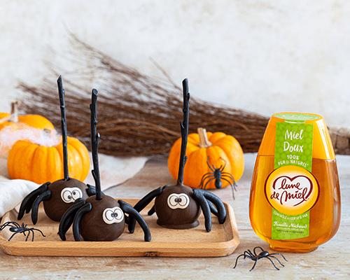Cake pops d'Halloween au miel doux Lune de Miel®