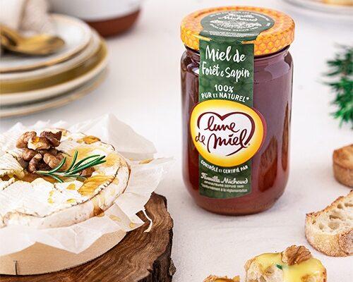 Camembert Rôti au miel de Forêt & Sapin Lune de Miel®