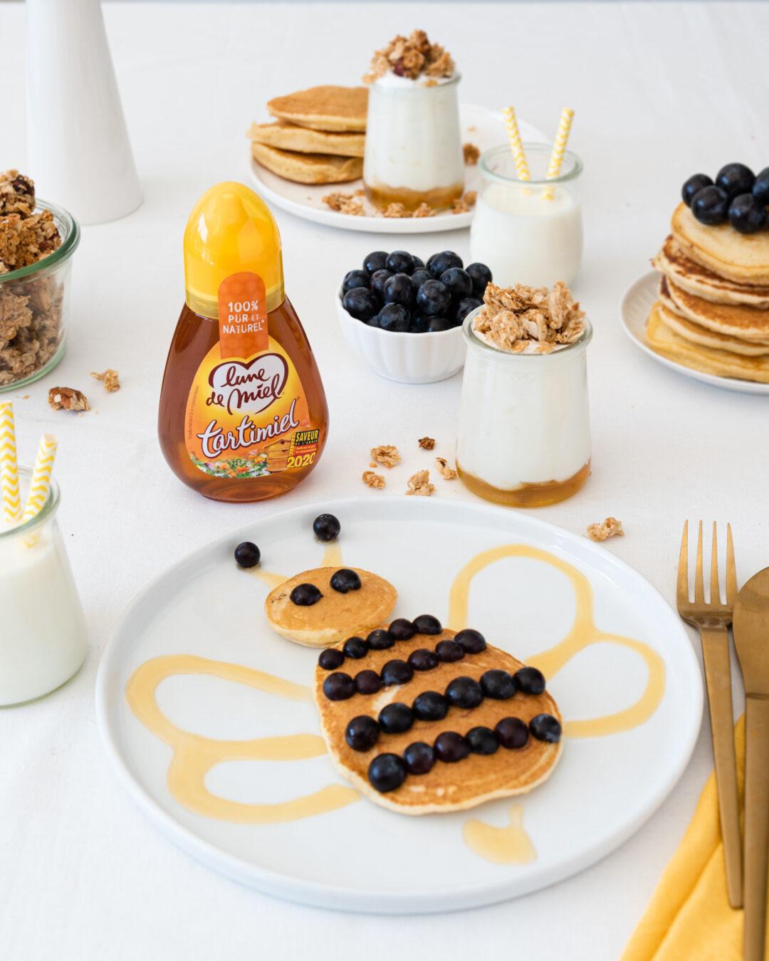 Pancake abeille et Tartimiel®